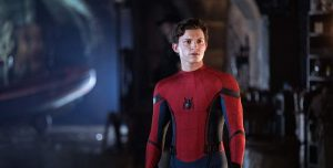 Spider-Man Far From Home Peter Parker Spider-Man uitsnede
