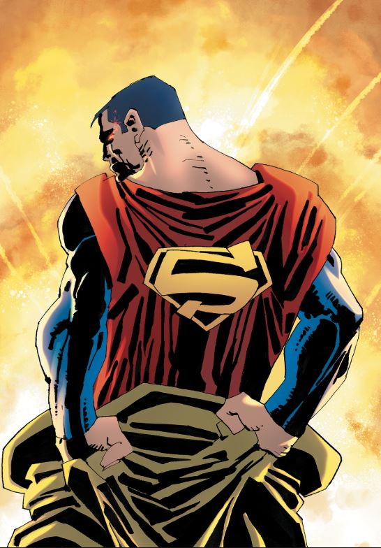 Superman: Year One Frank Miller cover