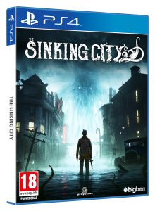 The Sinking City PS4 packshot