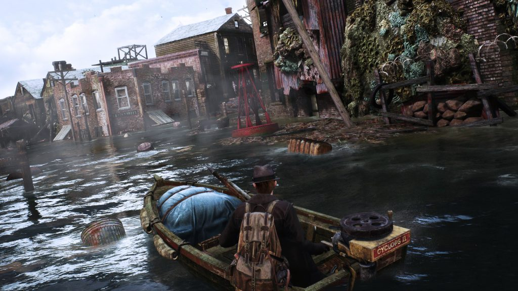 The Sinking City bootje