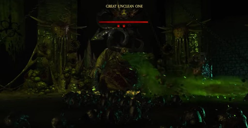 Warhammer: Chaosbane Great Unclean One in game