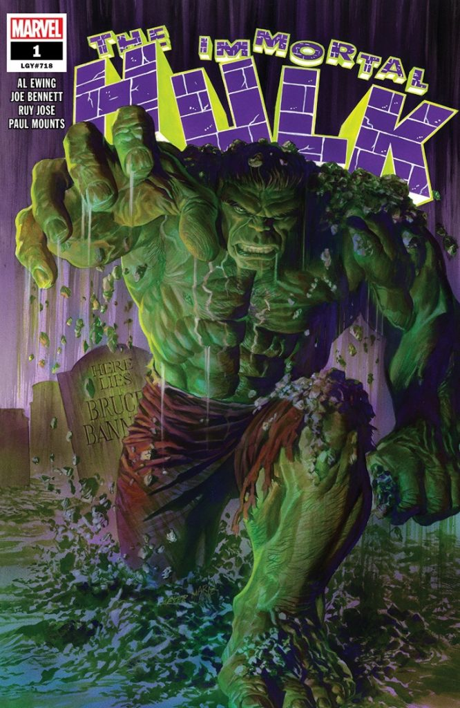 Comic Con Amsterdam 2019 The Immortal Hulk Al Ewing