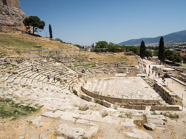 Modern Myths - Het DNA van fantastische verhalen - Athen_Akropolis_Dyonisus theater