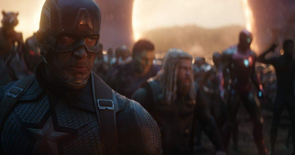 Avengers Endgame Captain America oorlog