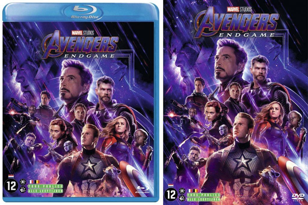 Avengers: Endgame blu-ray/dvd Winactie prijzen