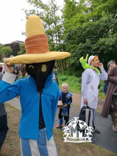 Castlefest 2019 cosplay Final Fantasy tovenaar