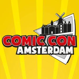 Comic Con Amsterdam 2019 logo hr klein