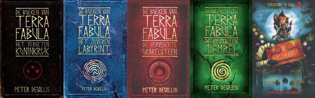 Modern Myths - Het DNA van fantastische verhalen - De boeken van Peter van Roermund