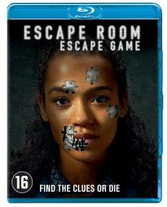 Escape Room blu-ray en dvd Winactie Poster
