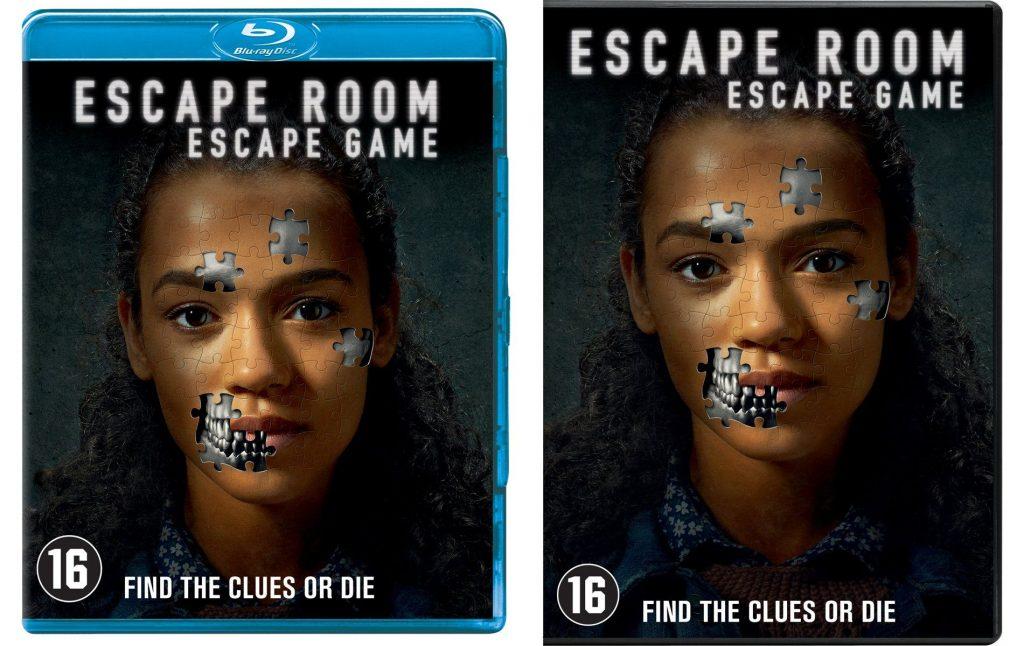 Escape Room blu-ray en dvd Winactie prijzen