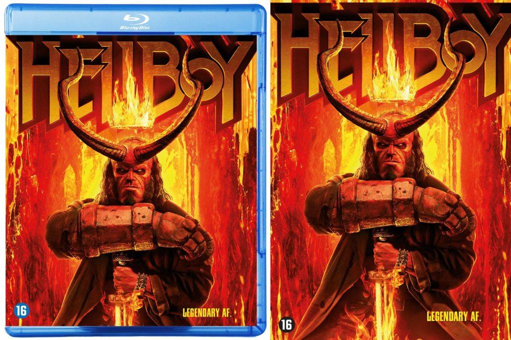 Hellboy blu-ray en dvd Winactie prijzen