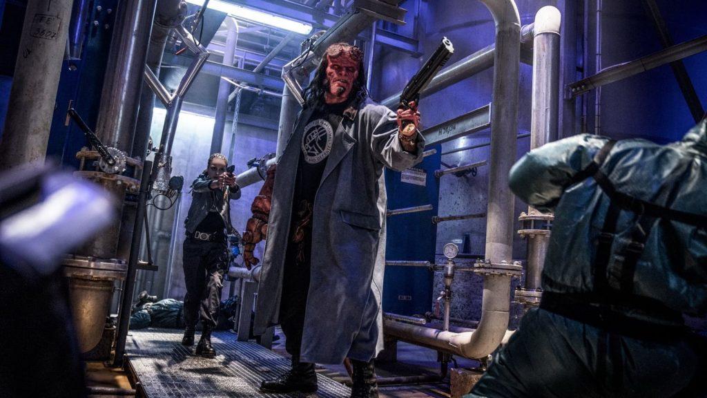 Hellboy blu-ray en dvd Winactie actiescene
