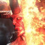 Hellboy vlammend zwaard