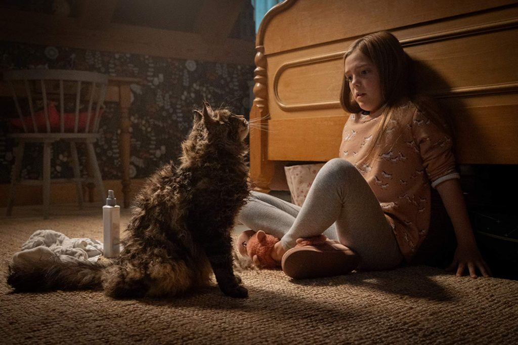 Pet Sematary - Ellie Creed en kat
