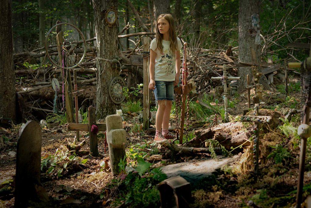 Pet Sematary - Ellie Creed op het kerkhof