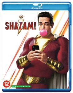 Shazam! blu-ray packshot