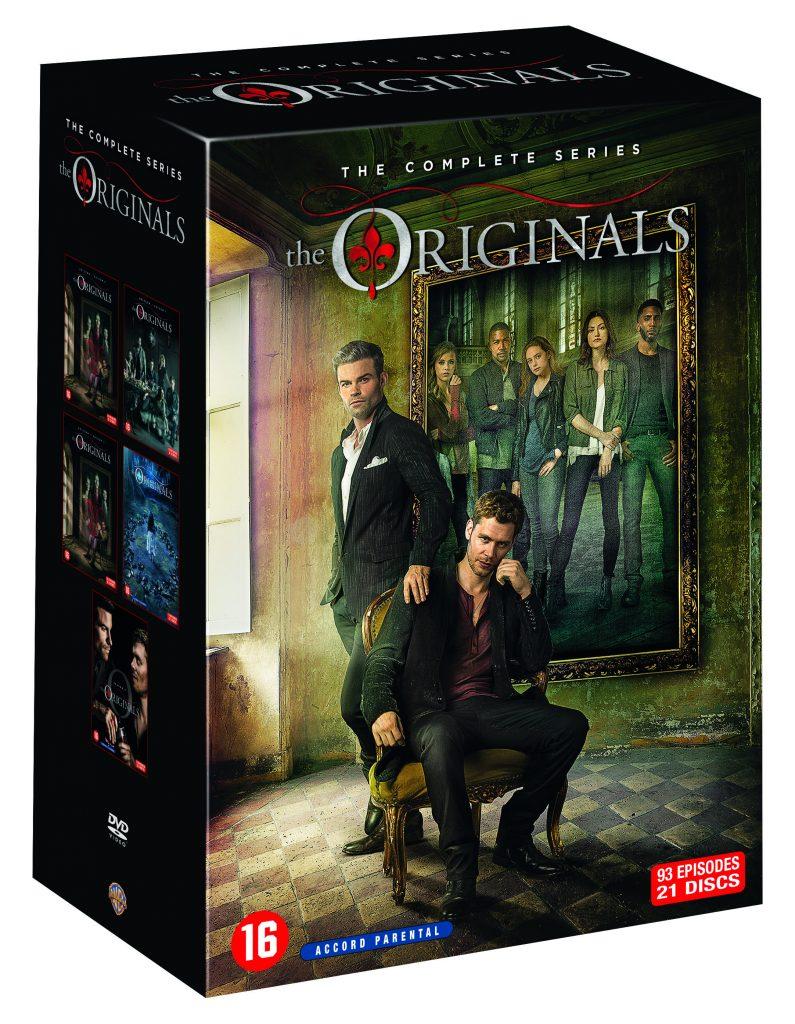 The Originals Seizoen 1-5 dvd packshot