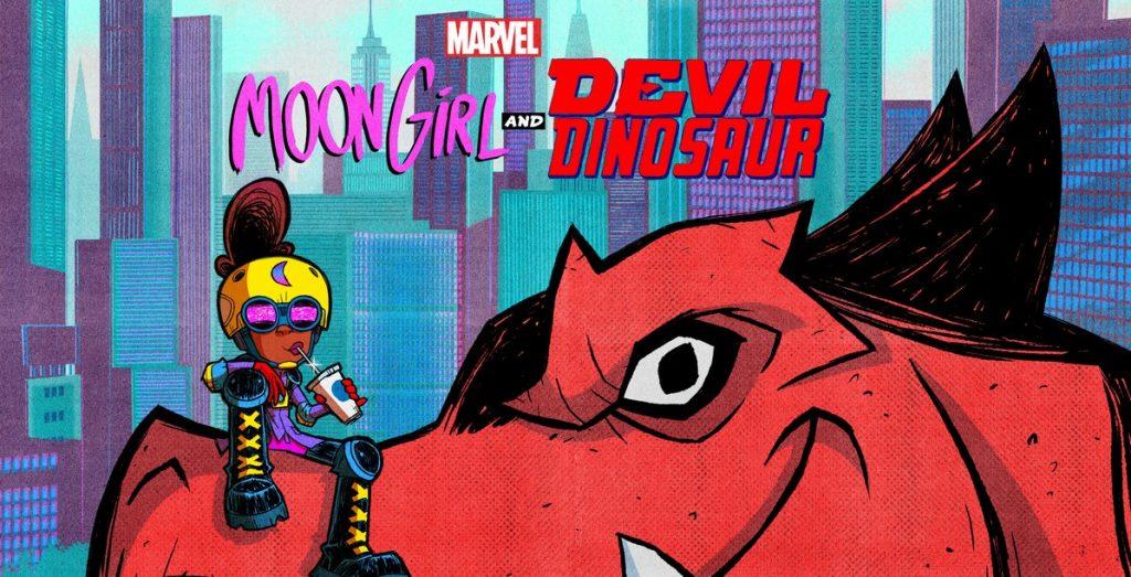 D23 Expo 2019 Moon Girl and Devil Dinosaur
