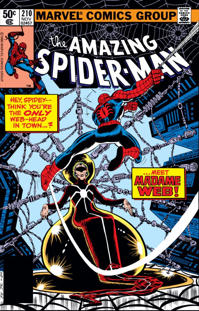 Modern Myths Nieuws 2019: Week 39 Amazing Spider-Man 210 - Madame Web