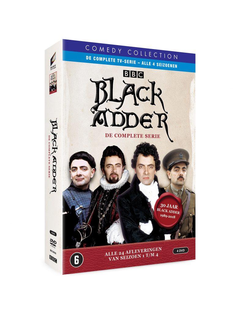 Blackadder: de complete serie dvd-packshot