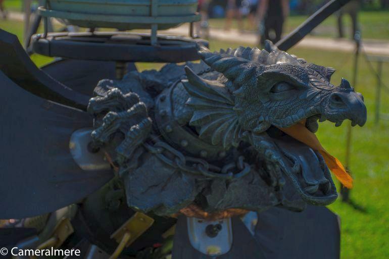 Cock Zandvliet - Steampunk Helicockter detail (Foto Paul van Deursen JR. - Cameralmere)