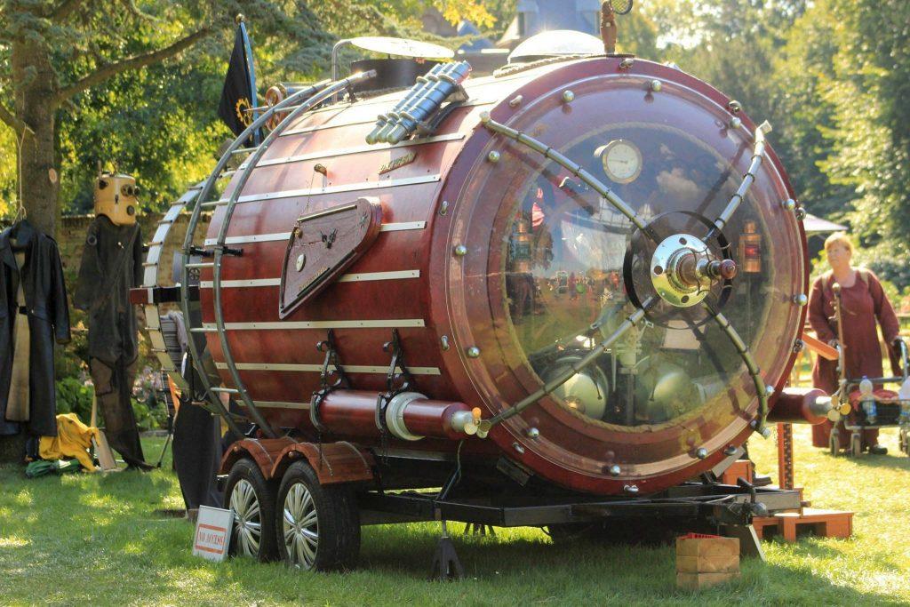 Cock Zandvliet - Steampunk submarine