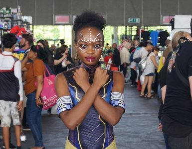 Comic Con Amsterdam 2019 cosplayers - Shuri uitsnede