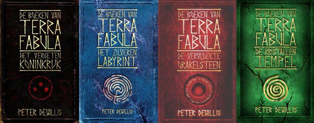 De boeken van Terra Fabula