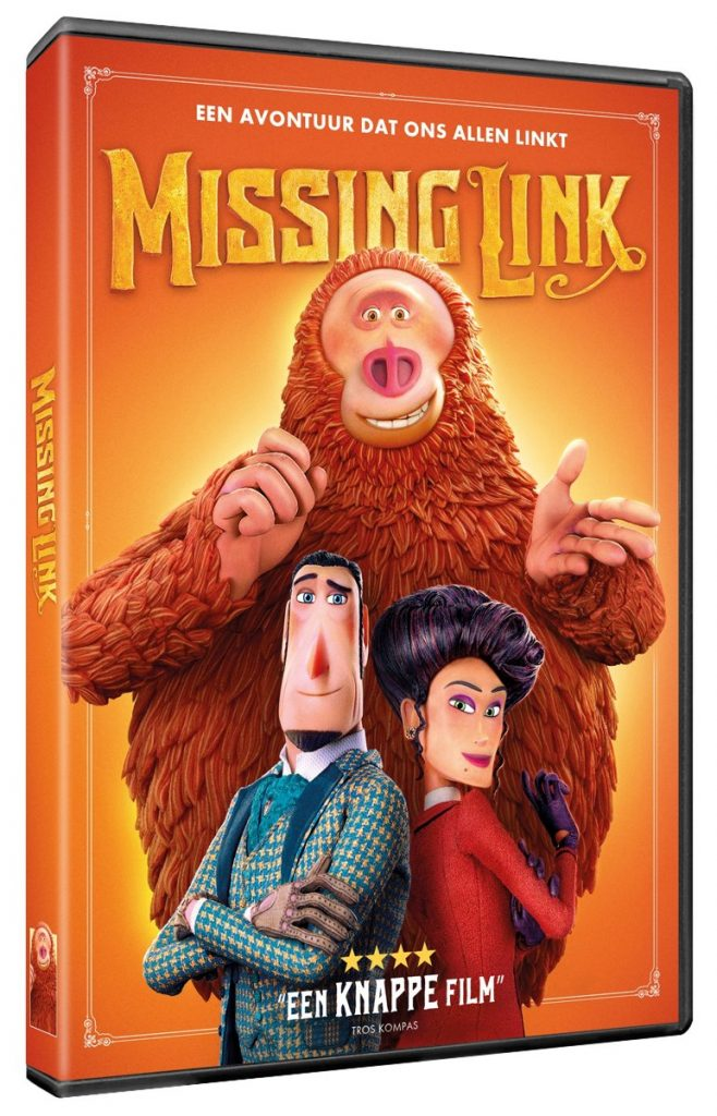 Missing Link dvd packshot