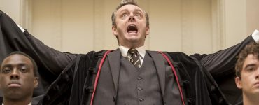 Slaughterhouse Rulez angst Simon Pegg uitsnede