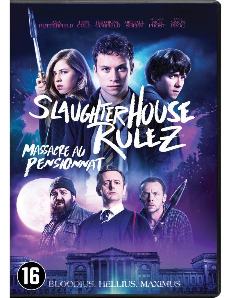 Slaughterhouse Rulez dvd packshot