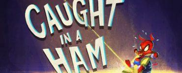Modern Myths Nieuws 2019: Week 38 - Spider-Ham Caught in a Ham groot