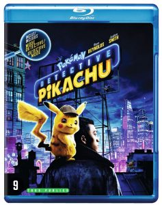 Detective Pikachu - blu-ray packshot