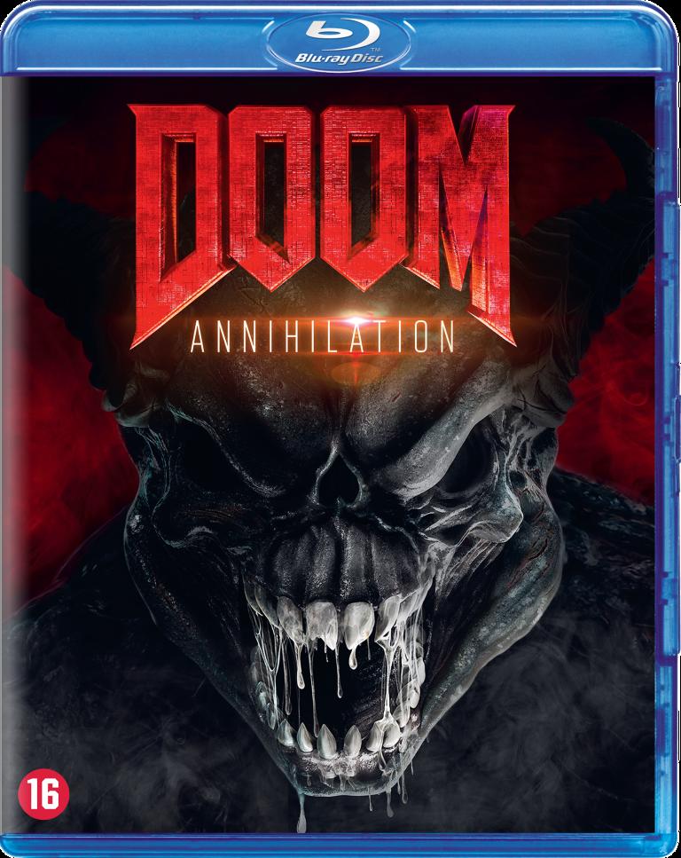 Doom 2 Annihilation blu-ray packshot