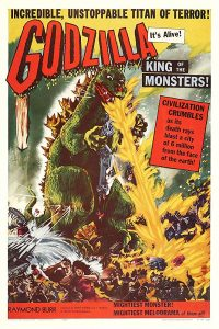 Godzilla King of the Monsters - Amerikaanse Release 1956