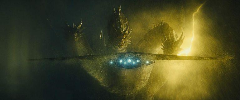 Godzilla King of the Monsters Gidorah duikt op