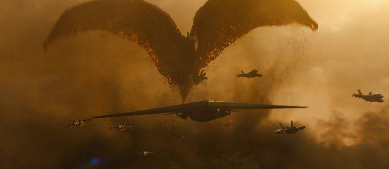 Godzilla King of the Monsters drakenaanval