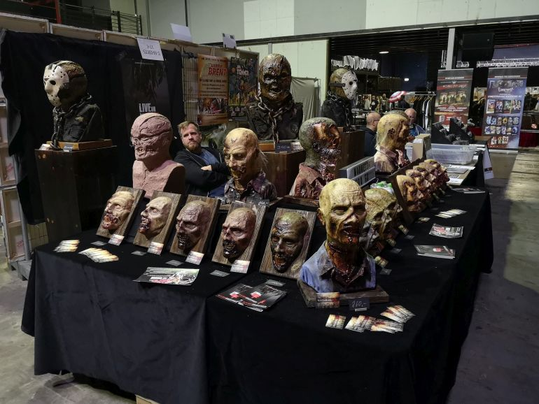 House of Horrors 2019 horror maskers