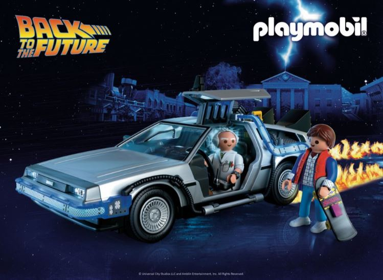 Modern Myths Nieuws 2019: Week 42 - PLAYMOBIL Back to the Future