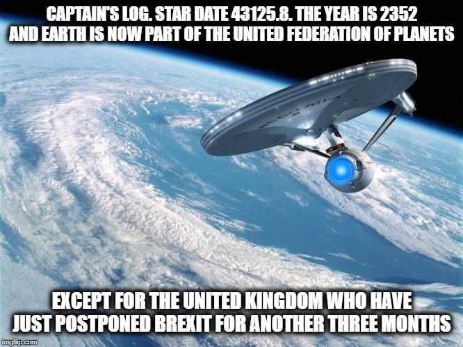 Interview met Victoria Schwab deel 2 - Star Trek Brexit meme (door Jedibond)