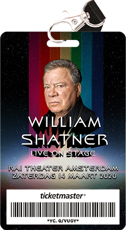 Modern Myths Nieuws 2019: Week 41 - William Shatner Live on Stage