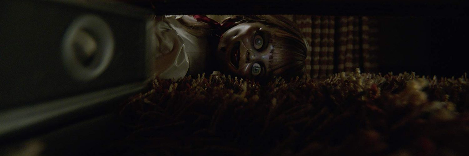 Annabelle 3 Films blu-ray winactie - Annabelle onder je bed - Annabelle Comes Home 2019
