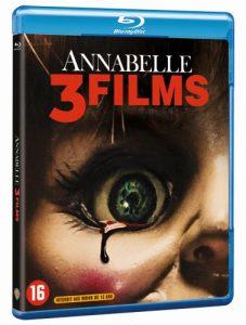 Annabelle 3 Films blu-ray winactie - blu-ray packshot 3D