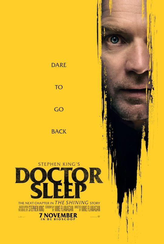 Doctor Sleep winactie poster ©2019 WARNER BROS ENTERTAINMENT INC-Foto Jessica Miglio