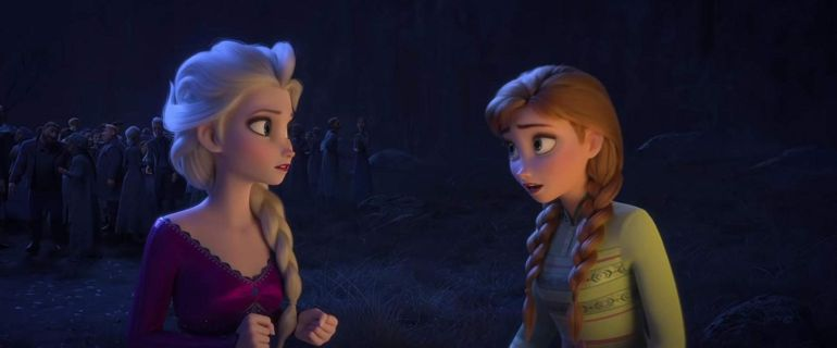 Frozen II Anna en Elsa