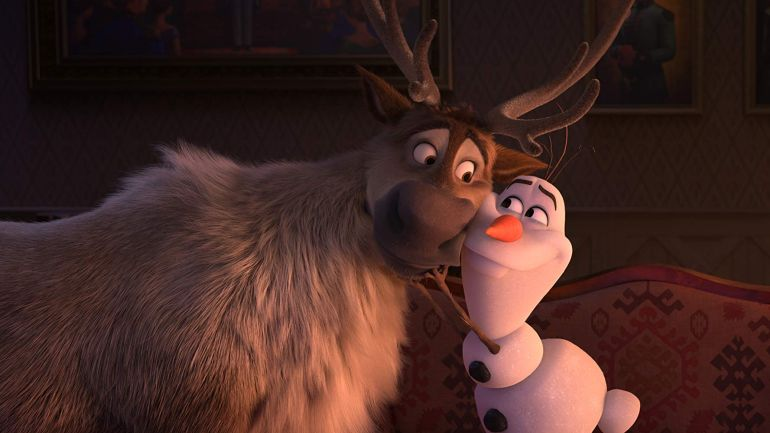 Frozen II - Olaf en Sven