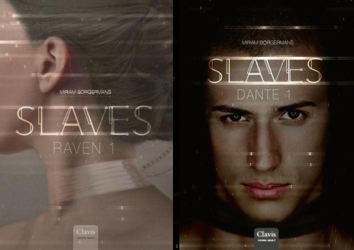 Johan Klein Haneveld - Top 5 SF-boeken voor beginners - Slaves - Raven 1 en Dante 1 - Miriam Borgermans