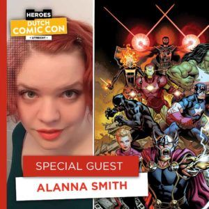 Legendarische comic creators op Dutch Comic Con 2019 - Alanna Smith