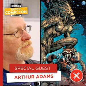 Legendarische comic creators op Dutch Comic Con 2019 - Arthur Adams