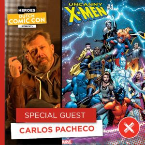 Legendarische comic creators op Dutch Comic Con 2019 - Carlos Pacheco